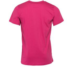 Triple2 Laag Face T-Shirt Men Beet Red